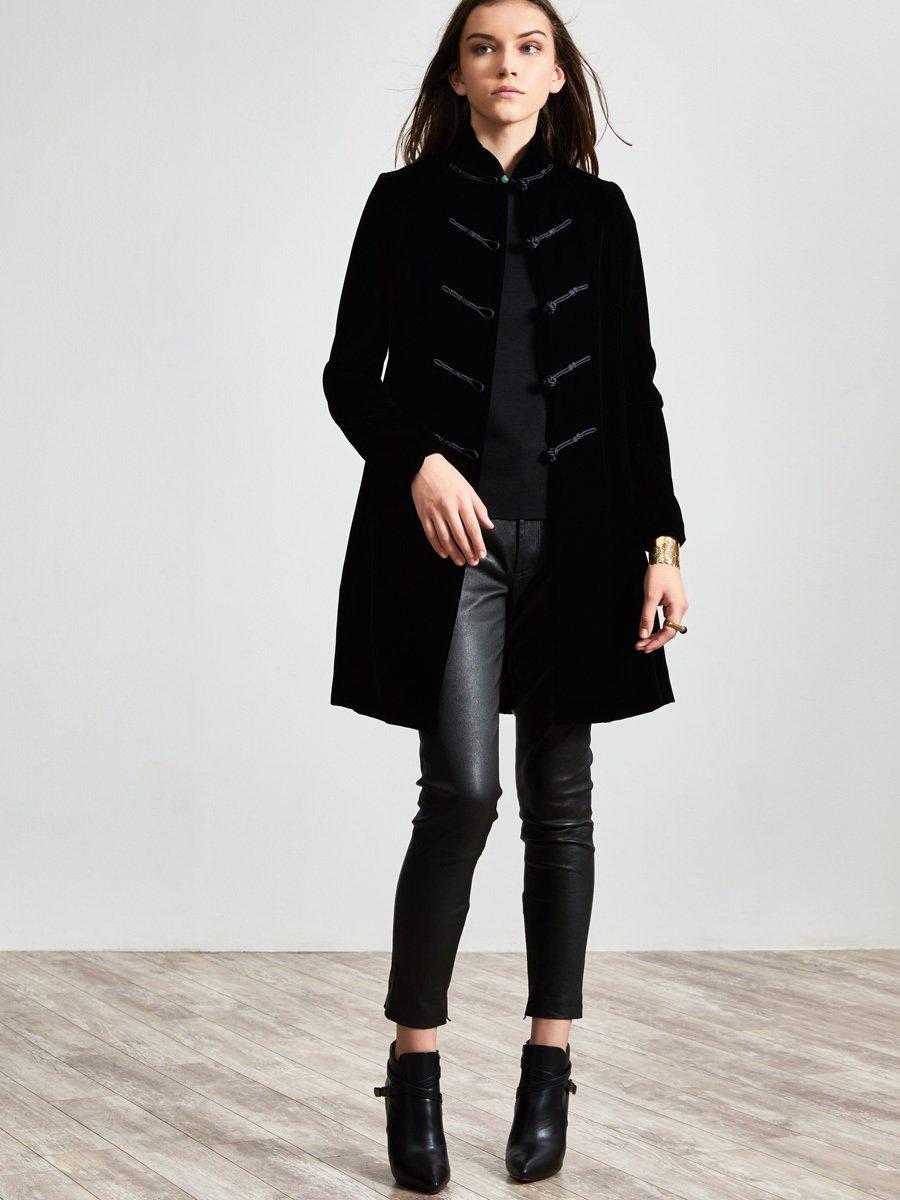Rayon Velvet Jacket