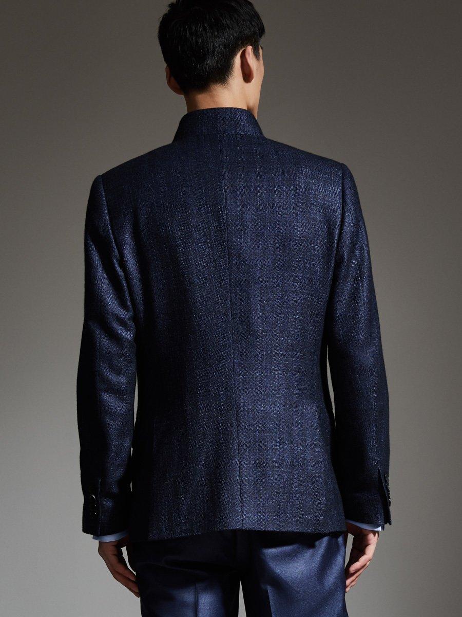 Cashmere Silk One Button Jacket
