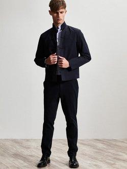 棉质弹力纤维复古唐装夹克